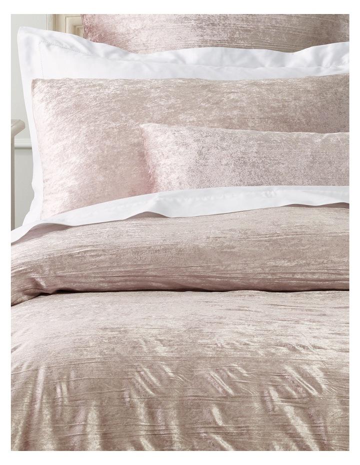 Taormina Velvet Quilt Cover Set in Pink image 2