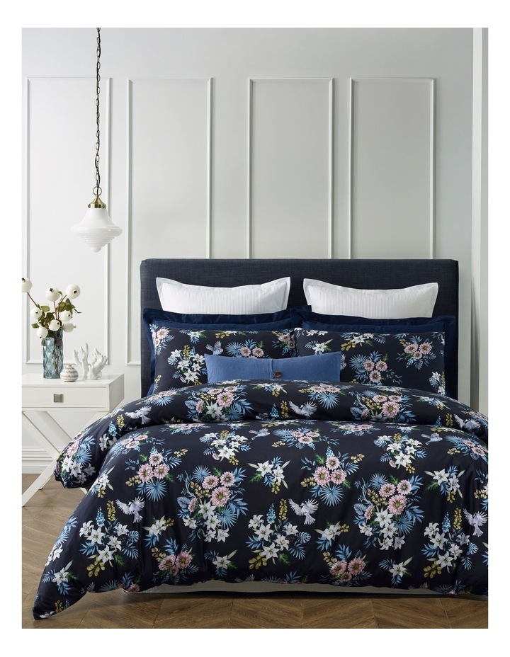 Tuscania Cotton Quilt Cover Set in Multi image 1