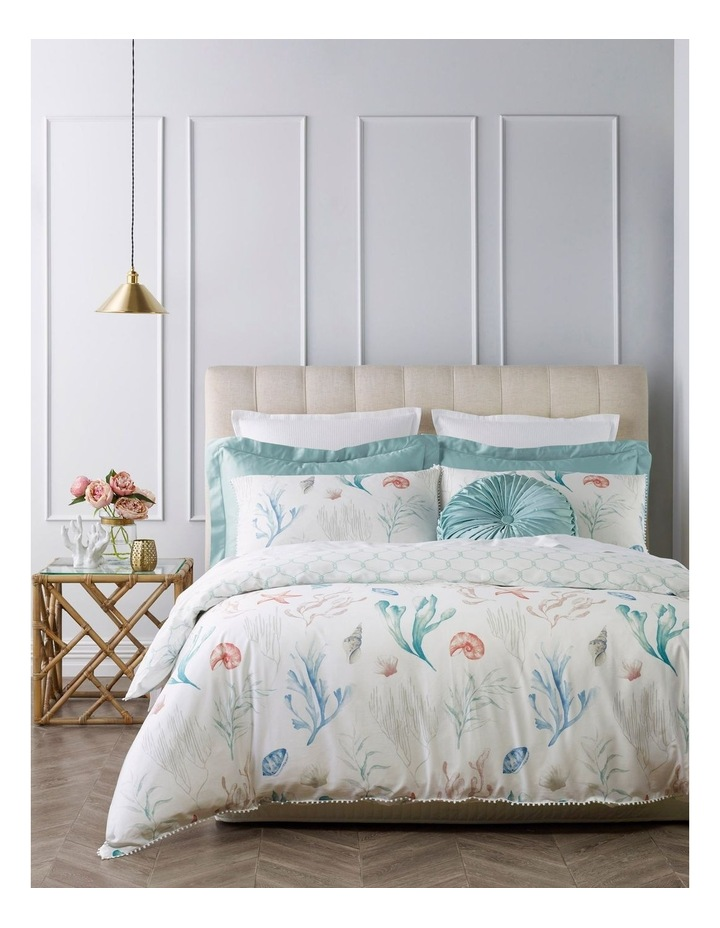 Marina Cotton Quilt Cover Set in Multi image 1