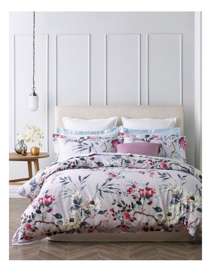 Clairvaux Cotton Quilt Cover Set in Lavender image 1
