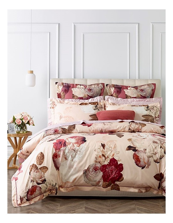 Heritage Adele Quilt Cover Set In Pink Myer