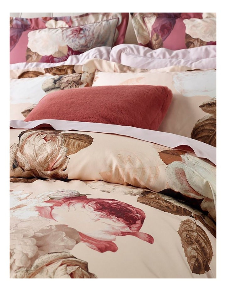 Adele Quilt Cover Set in Pink image 2