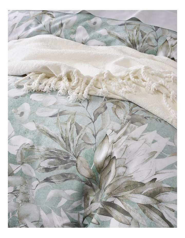 Charlotte Cotton Sateen Quilt Cover Set in White image 3