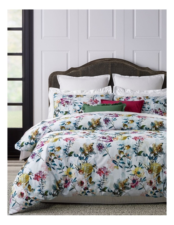 Madelyn Textured Cotton Quilt Cover Set image 1
