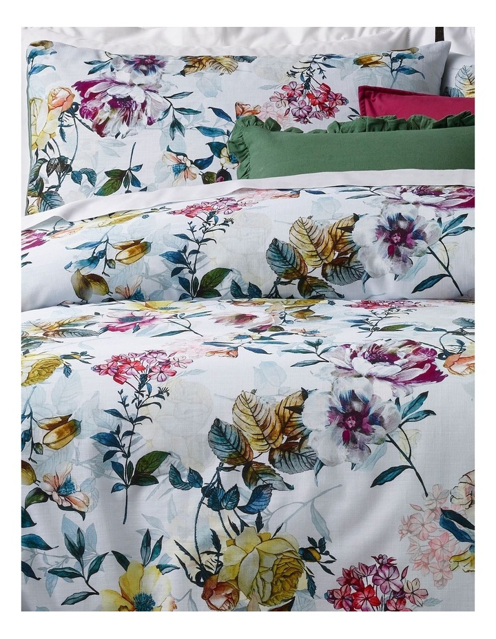 Madelyn Textured Cotton Quilt Cover Set image 2