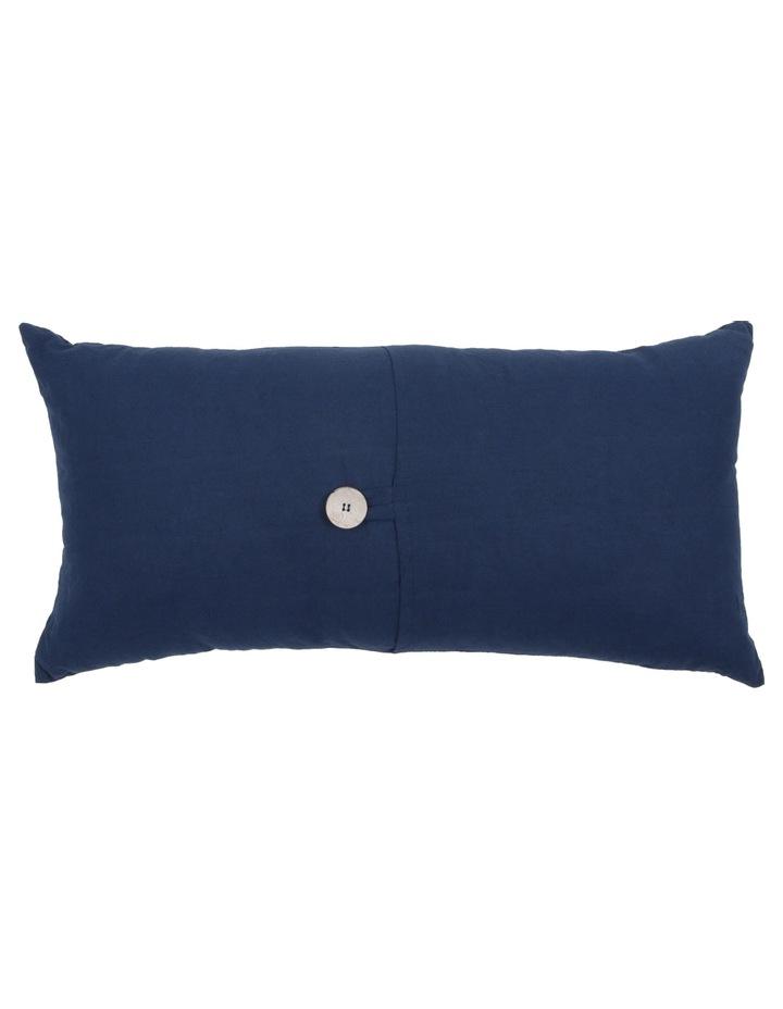 Antoinette Linen Cushion in Dress Blue image 1