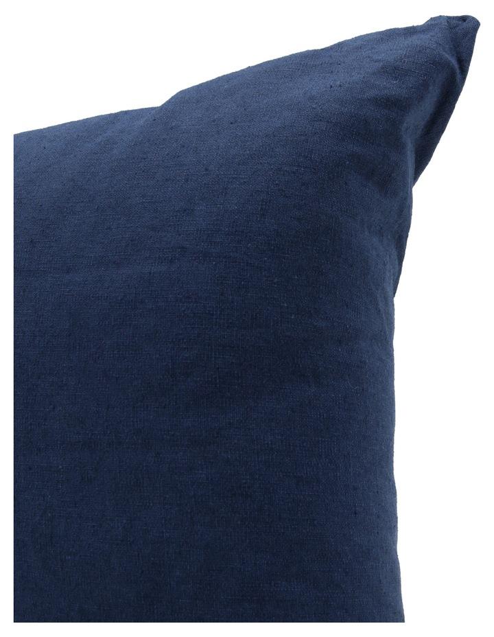 Antoinette Linen Cushion in Dress Blue image 2