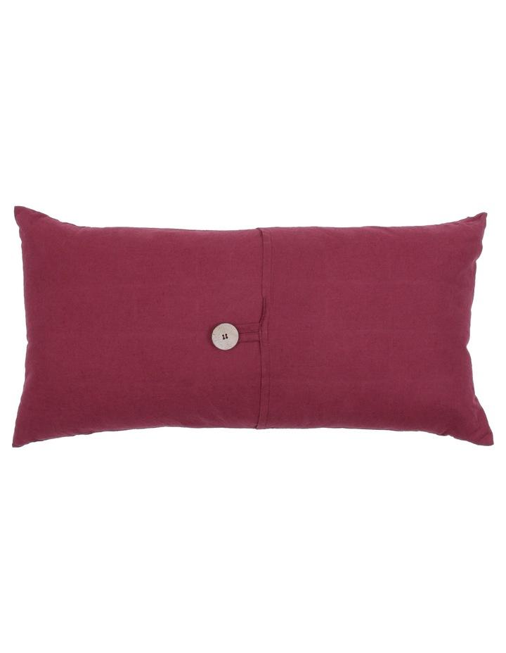 Antoinette Linen Cushion in Cordovan image 1