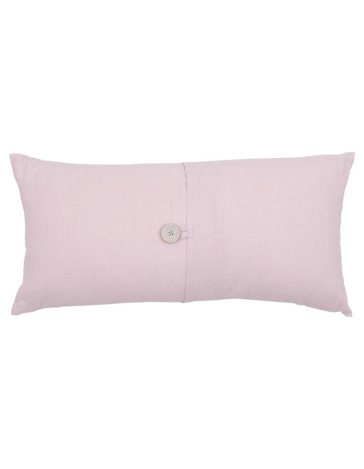 Antoinette Linen Cushion in Rose Smoke image 1