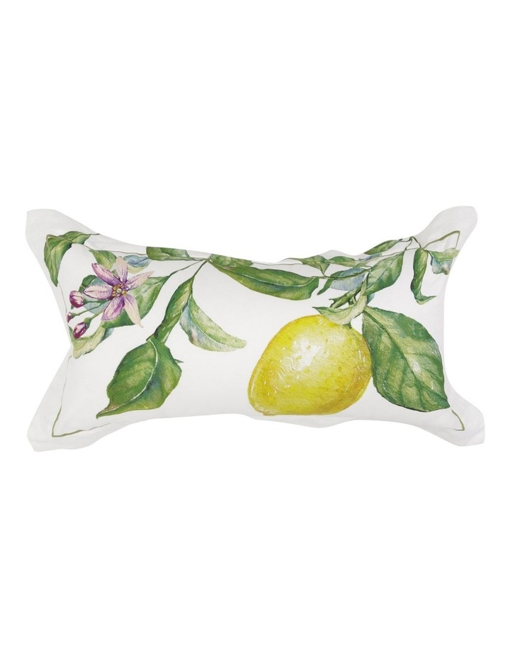 Dahlia Cushion in Yellow/Green image 1