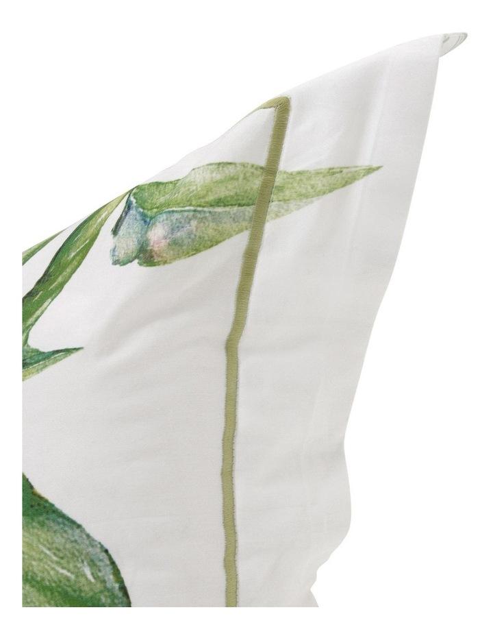 Dahlia Cushion in Yellow/Green image 2