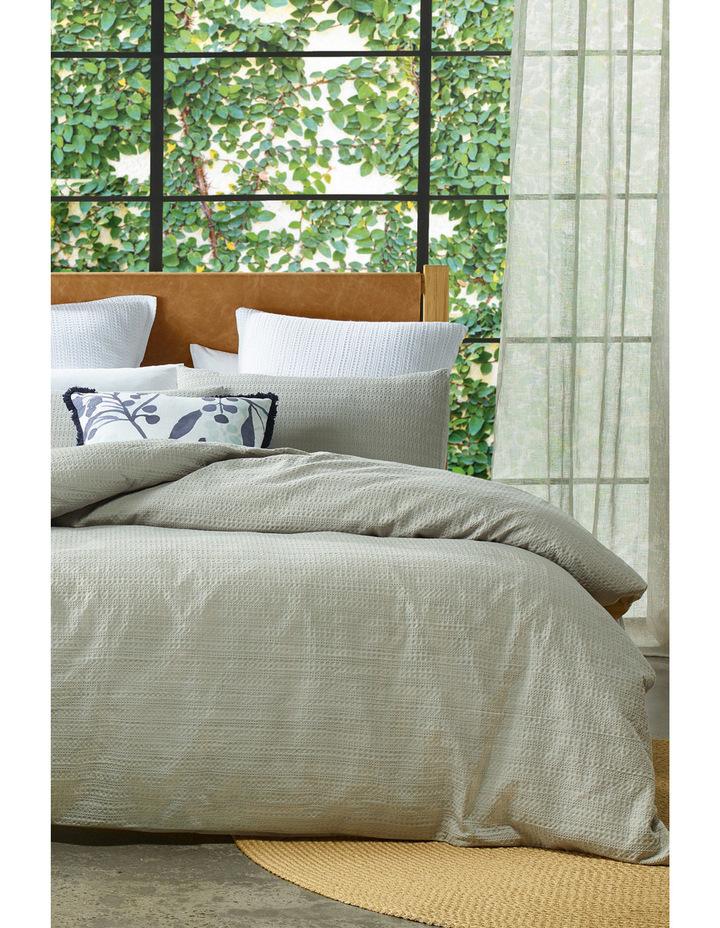 Springbrook Quilt Cover Range in Grey image 1