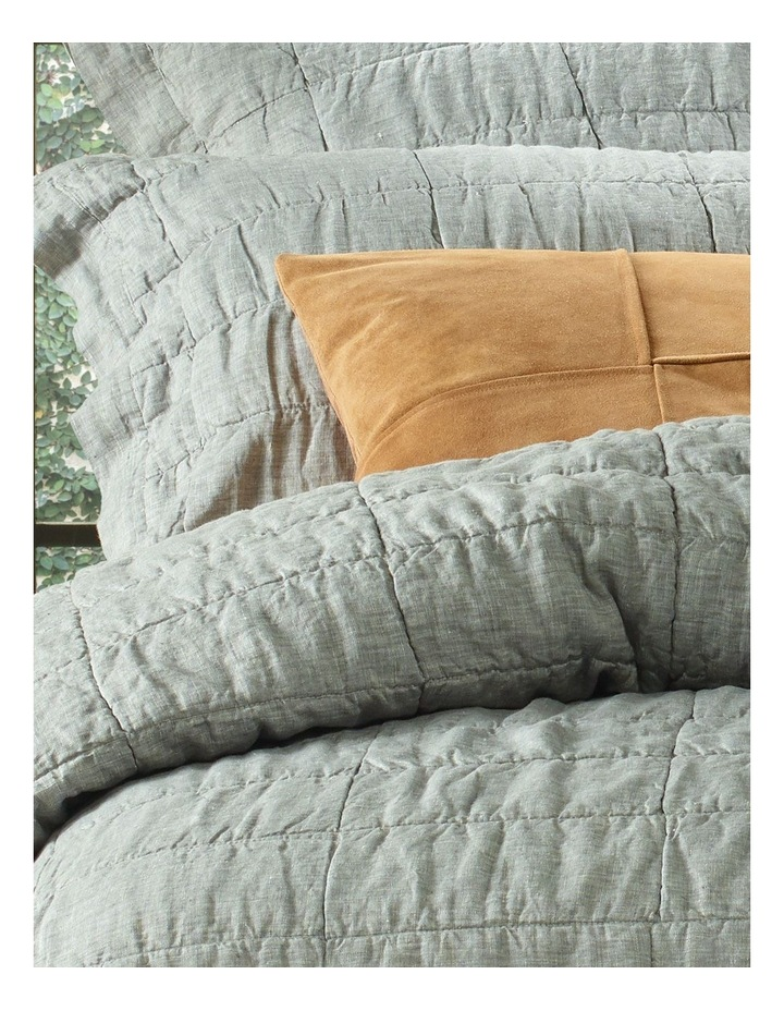 Katoomba Quilt Cover in Charcoal image 2