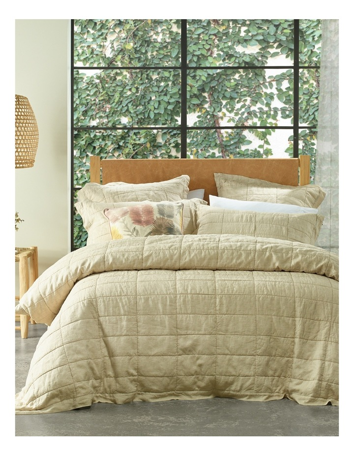 Katoomba Quilt Cover in Moonrock image 1