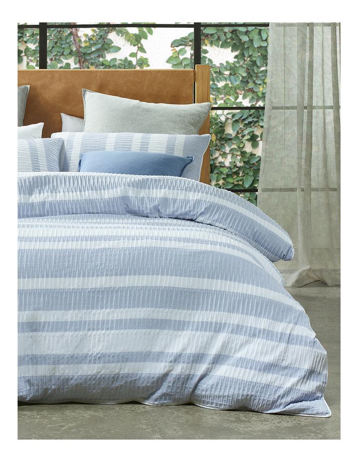 Iluka Yarn Dyed Stripe Quilt Cover Sets image 1