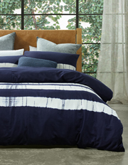 Australian House & Garden - Keppel Tie Dyed Cotton Canvas Quilt Cover Set