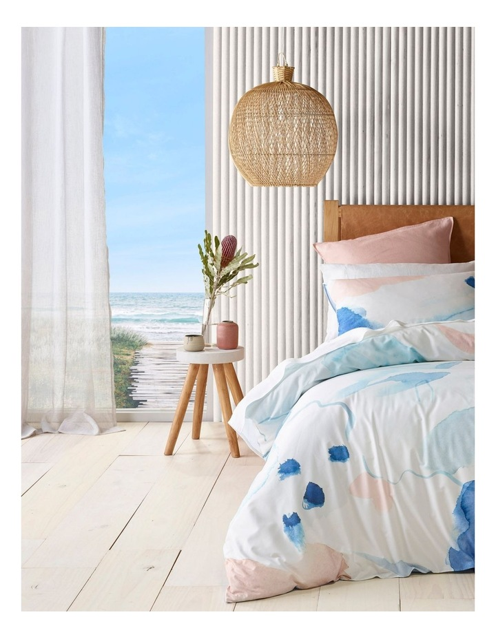 Apollo Bay Bamboo Blend Quilt Cover Set in Blue image 1
