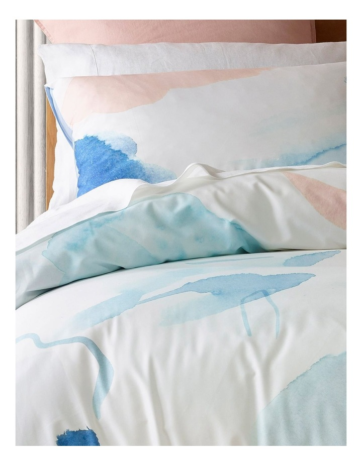 Apollo Bay Bamboo Blend Quilt Cover Set in Blue image 2