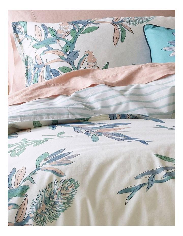 Wategos Kookaburra Cotton Quilt Cover Set in Blue/White image 2
