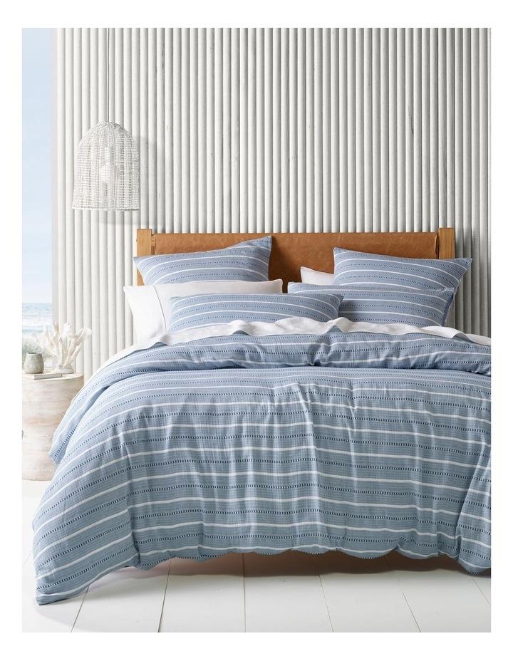 Avallon Vertical Stripe Quilt Cover Set image 1