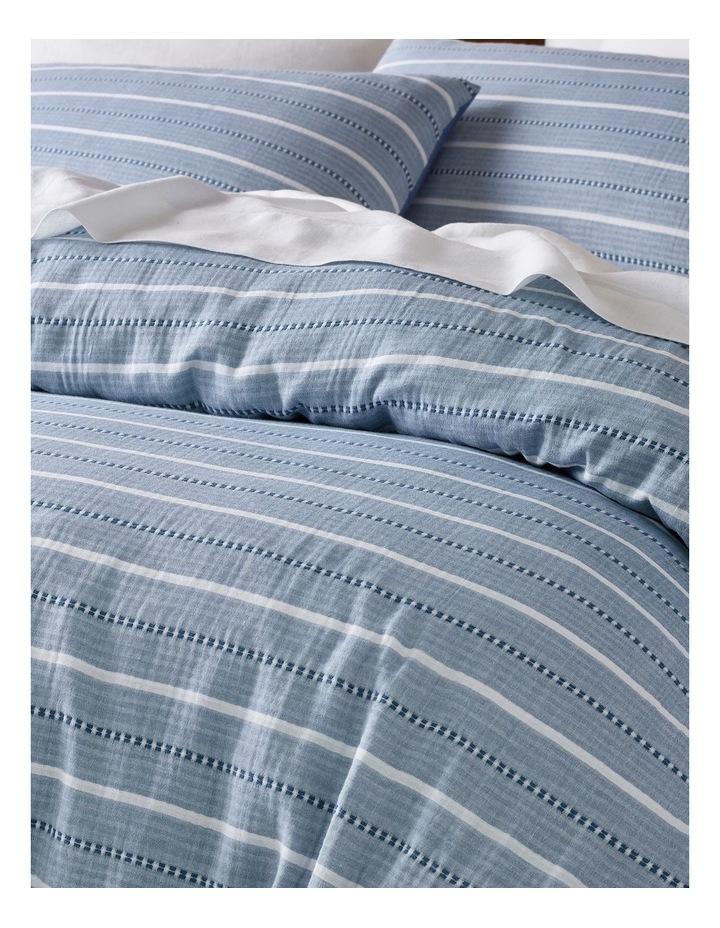 Avallon Vertical Stripe Quilt Cover Set image 2