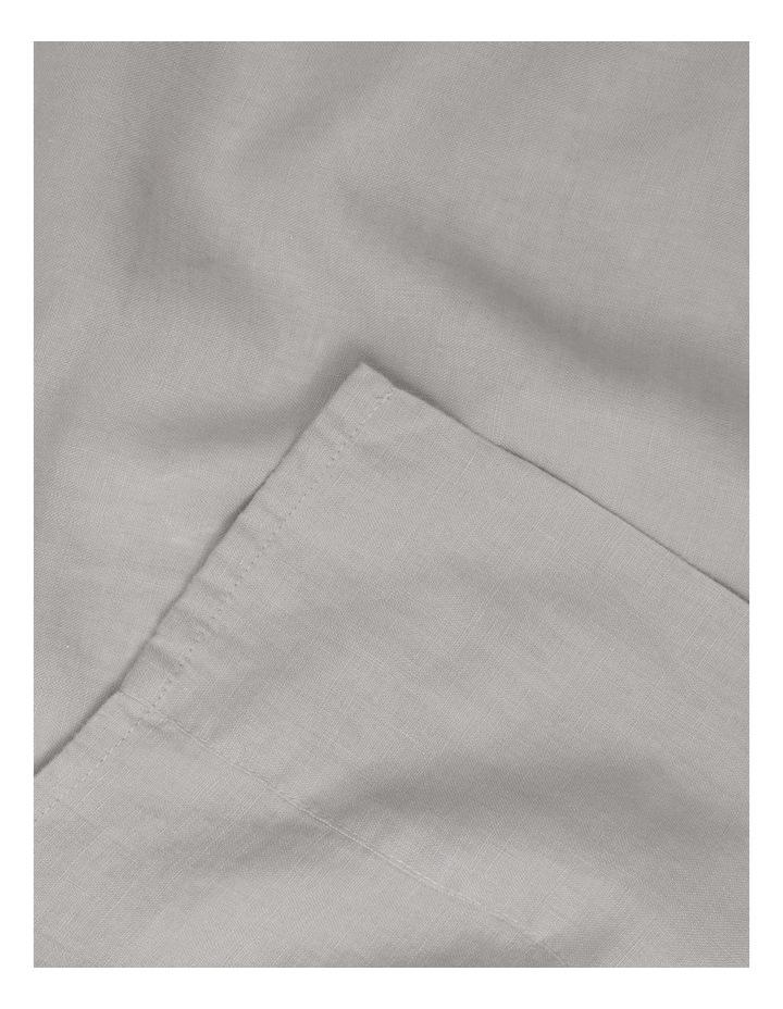 Sandy Cape Washed Belgian Linen Sheet Set in Grey image 2