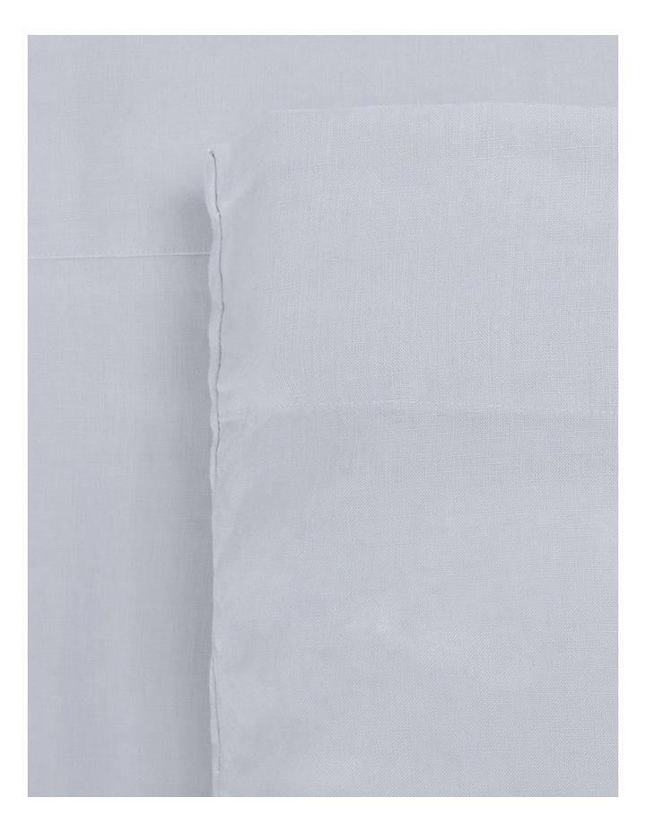 Sandy Cape Linen Sheet Set in Blue image 1