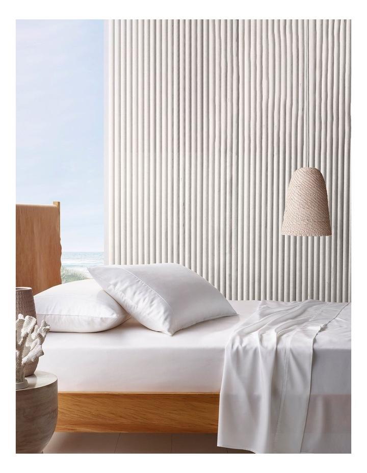 Tencel Sheet Set In White image 1