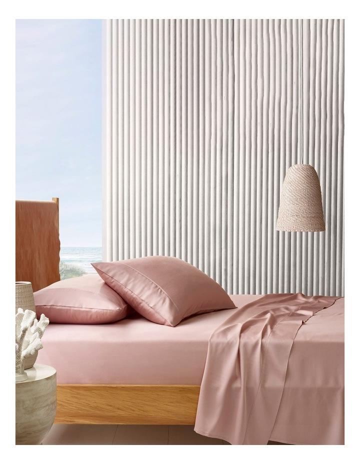 Tencel Sheet Set In Pink image 1