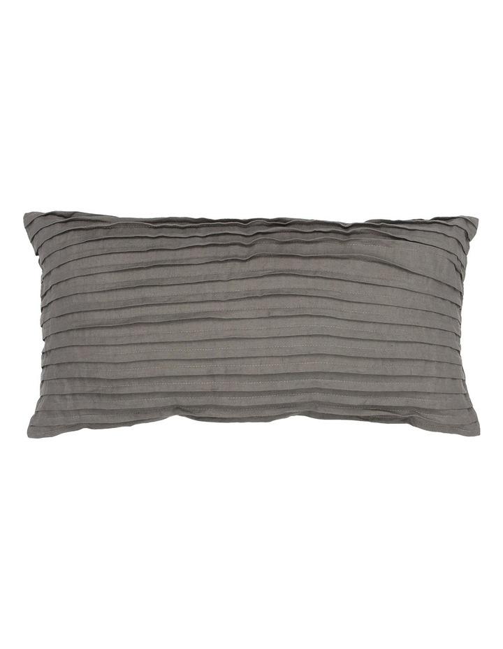 Tatura Cushion in Charcoal image 1