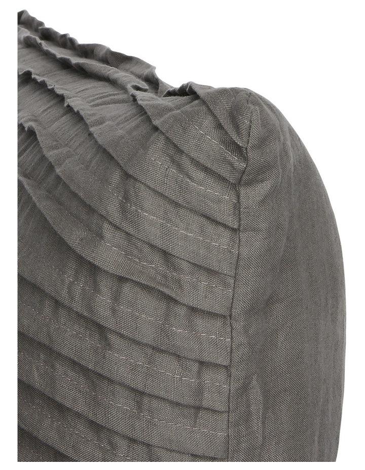 Tatura Cushion in Charcoal image 2