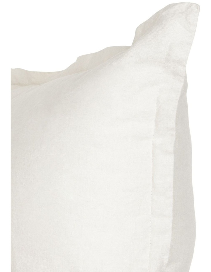 Sandy Cape Washed Linen Cushion in Moonbeam image 2