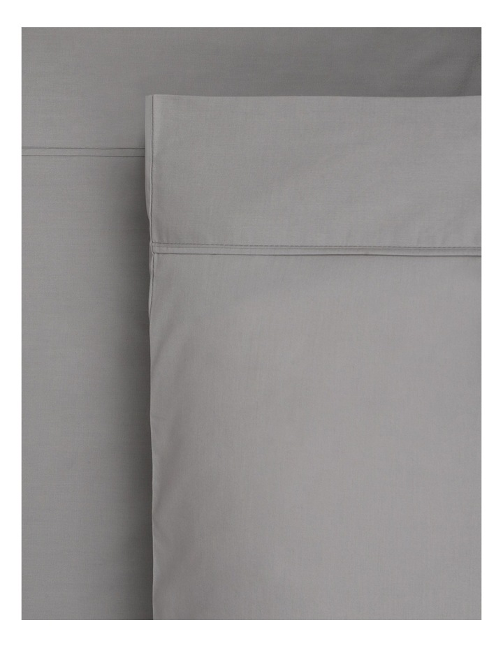 250TC Easy Care Cotton Rich Fitted Sheets in Charcoal image 1