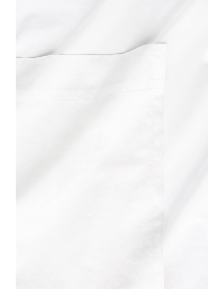 Aster Supima Cotton Sheet Separates in White image 1