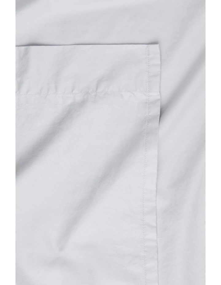 Aster Supima Cotton Sheet Separates in Silver image 1