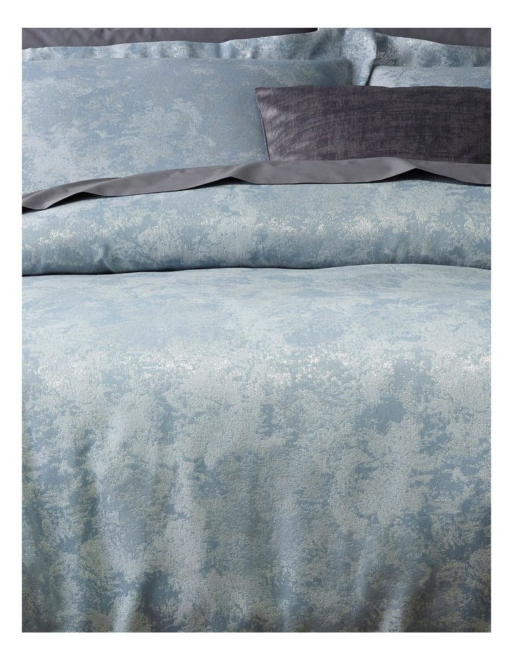 Alila Jacquard Quilt Cover Set in Silver image 2
