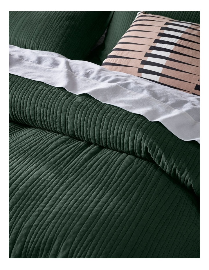 Allamanda Quilted Quilt Cover Set image 3