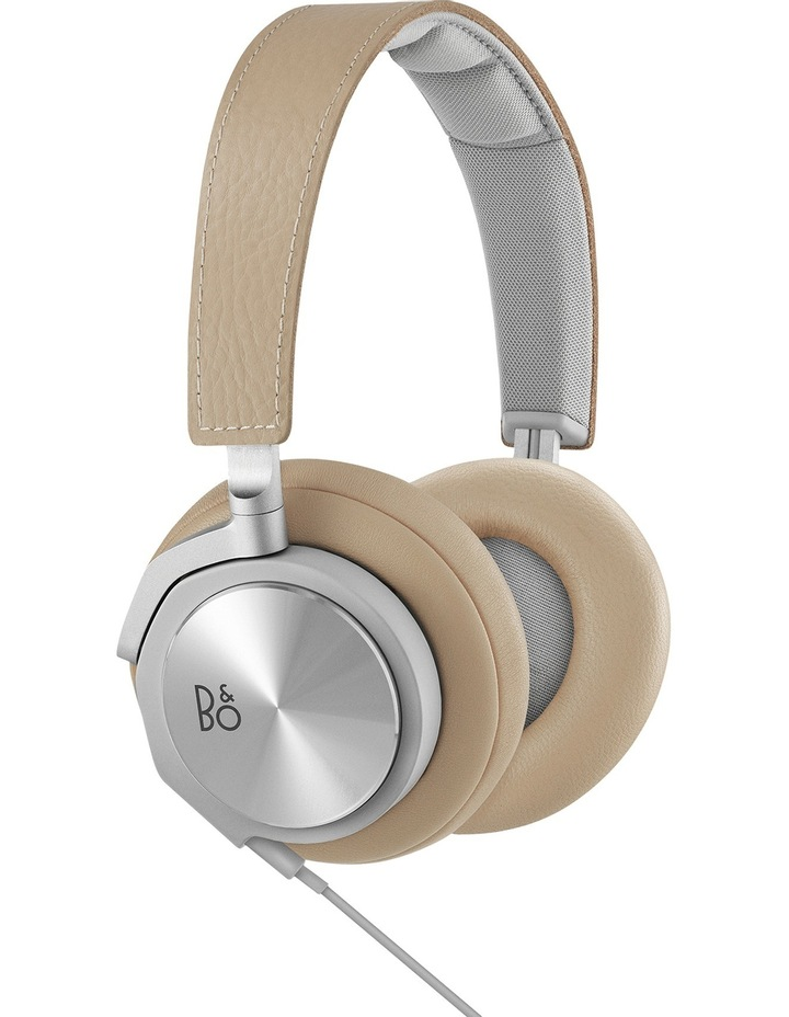 BeoPlay H6 on-ear headphones natural leather image 1