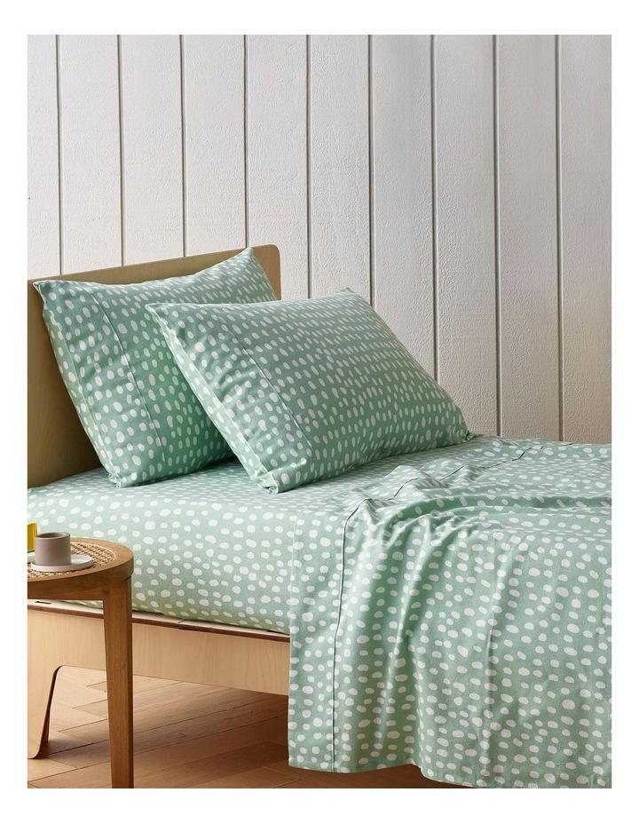 Turkish Cotton Spots Flannelette Sheet Set image 1