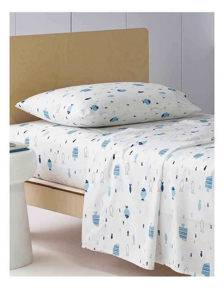 Swimming Fish Cotton Sheet Set image 1