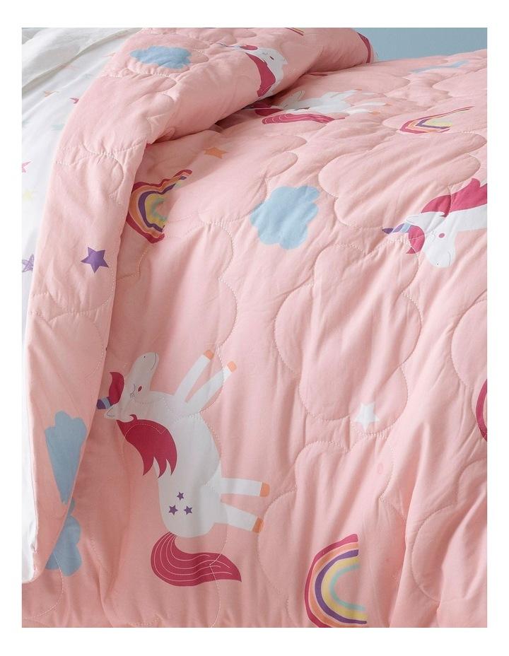 Rainbow Unicorn Quilt Cover Set image 2