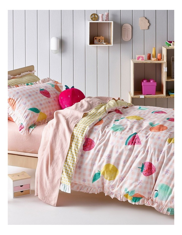 Tutti Fruiity Quilt Cover Set in Pink image 1