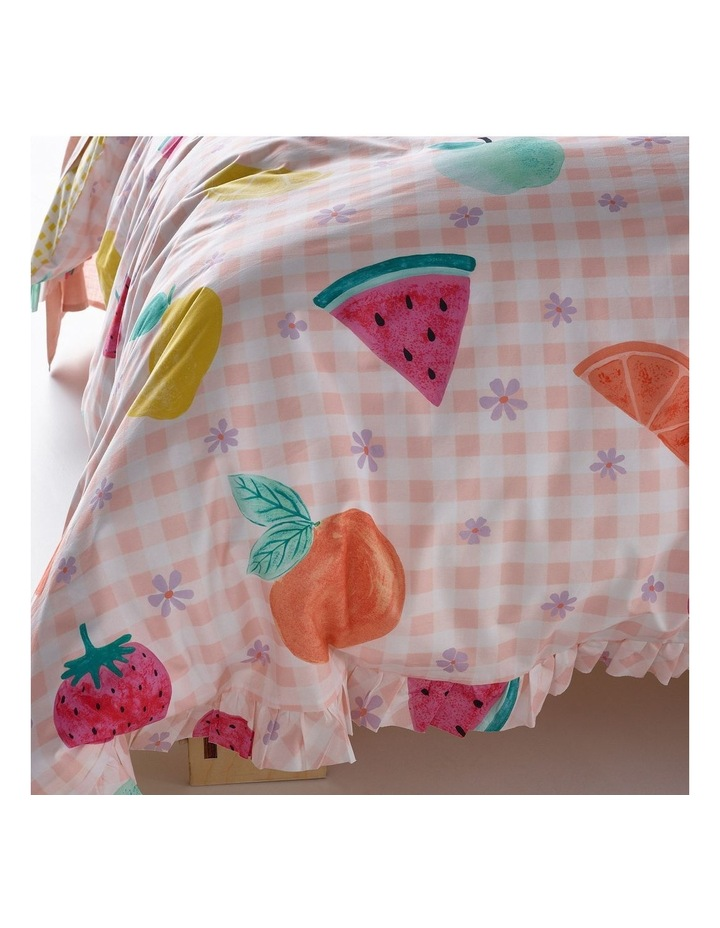 Tutti Fruiity Quilt Cover Set in Pink image 2