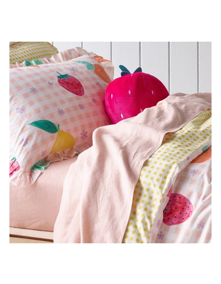 Tutti Fruiity Quilt Cover Set in Pink image 3