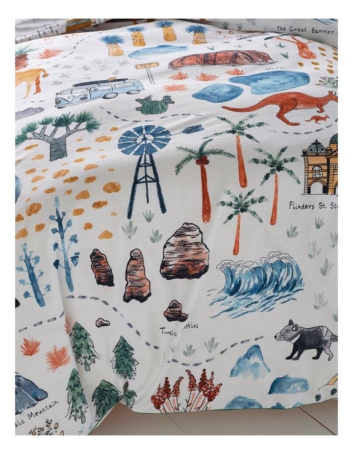 Aussie Roadtrip Quilt Cover Set image 3