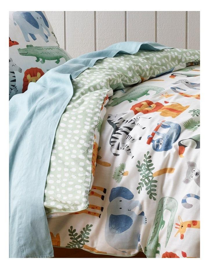 Animal Jumble Quilt Cover Set image 2