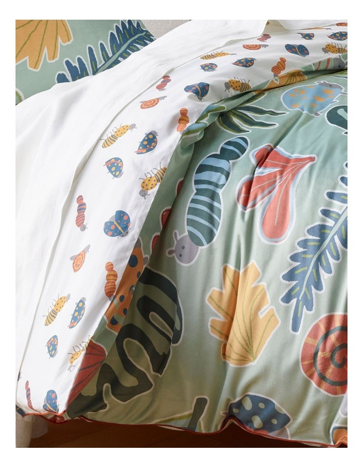 Backyard Bugs Quilt Cover Set image 2
