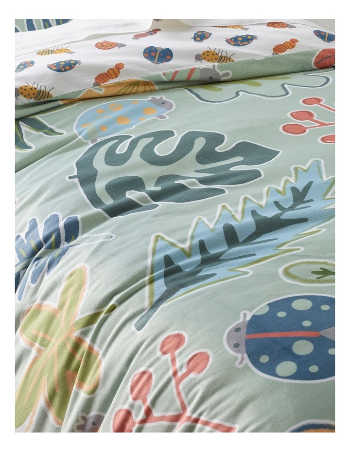 Backyard Bugs Quilt Cover Set image 3