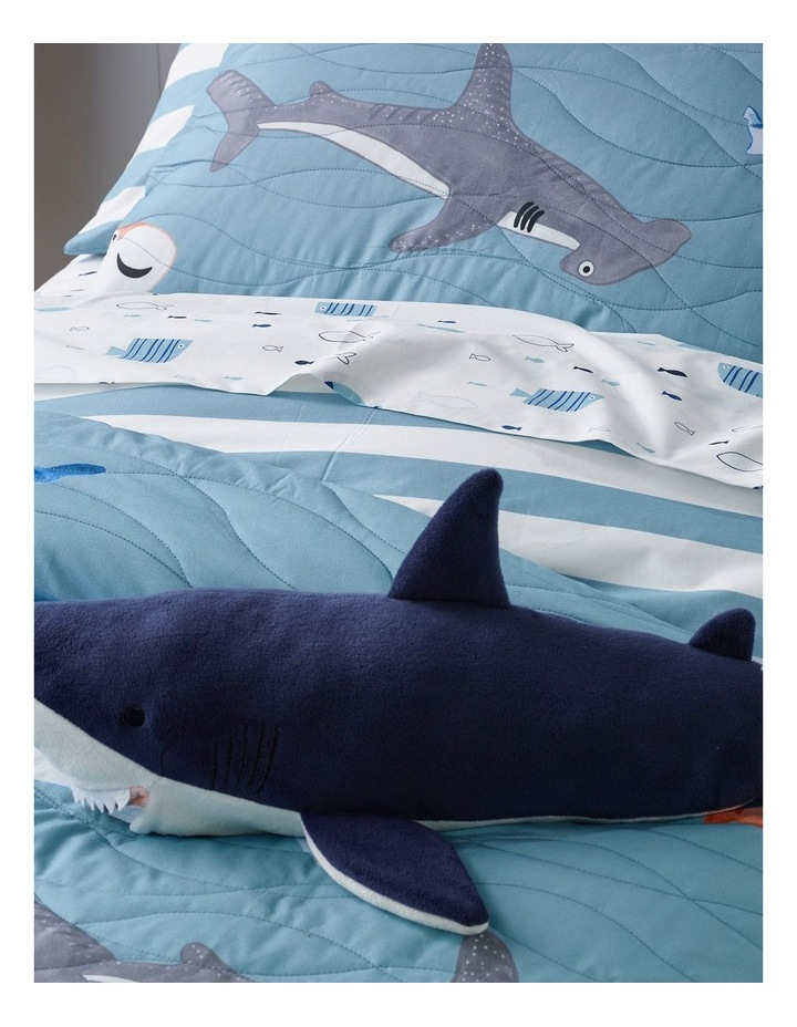 Sharks in the Sea Quilted Quilt Cover Set image 3