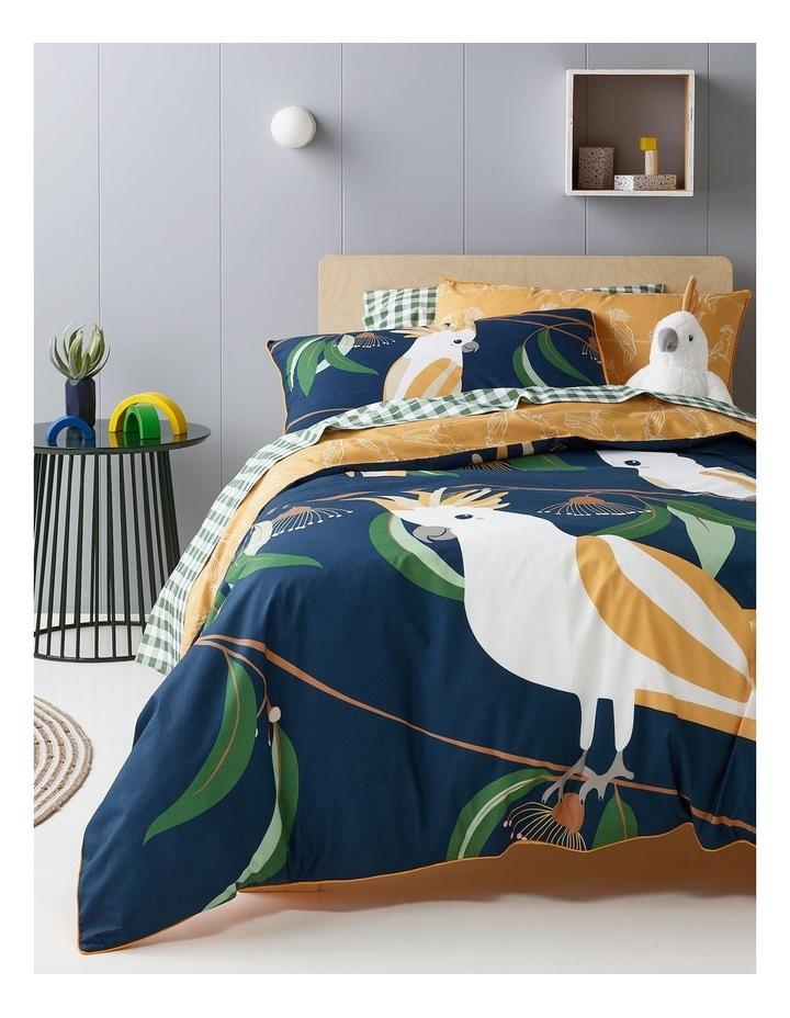Balancing Birds Cotton Quilt Cover Set image 1